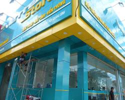 ốp alu mặt tiền shop tại quận Tân Phú